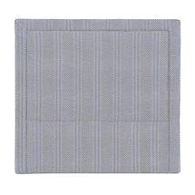Candace Queen Bedhead - Chevron Blue Linen