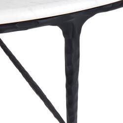 Heston Marble Coffee Table - Black
