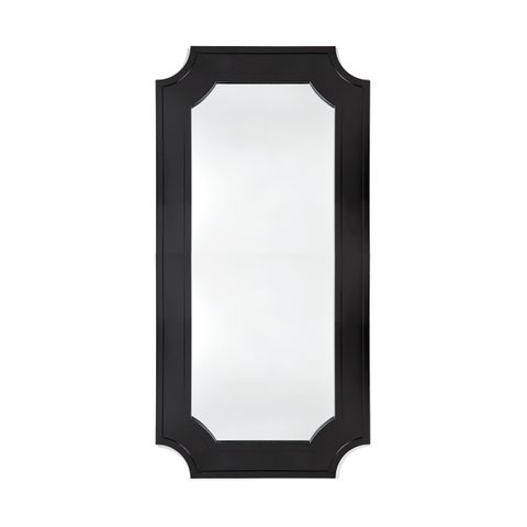 Bungalow Floor Mirror - Black