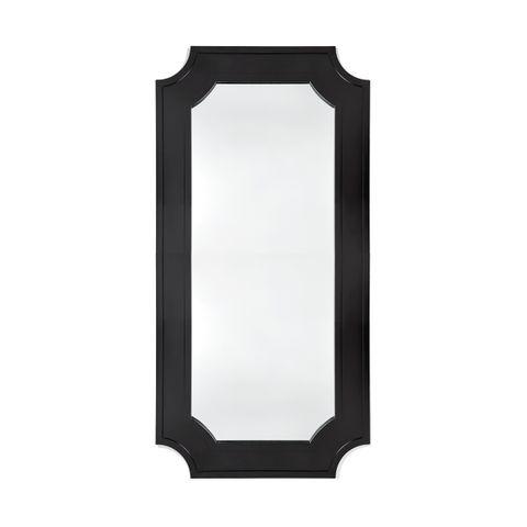 Bungalow Floor Mirror - Black