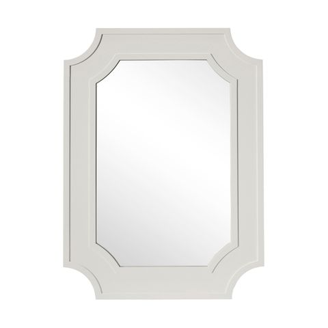 Bungalow Wall Mirror - Grey