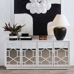 Picasso Table Lamp - Black w White
