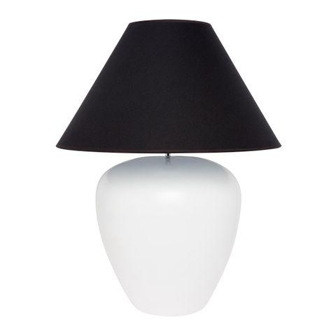 Picasso Table Lamp - White w Black
