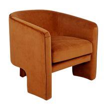 Kylie Occasional Chair - Caramel Velvet