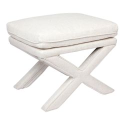 Candace Stool - Natural Linen