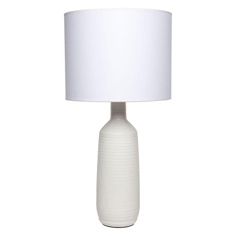 Tess Table Lamp - White