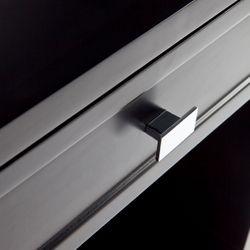 Logan Bedside Table - Black