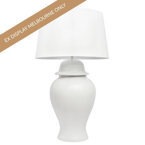 Salvador Table Lamp - White