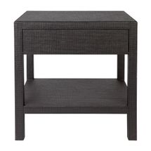 Chiswick Bedside Table - Black