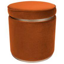 Totti Storage Stool - Caramel Velvet