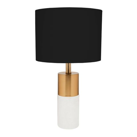 Lane Table Lamp - Black Shade