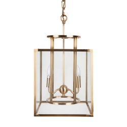 Concord Pendant - Small Brass