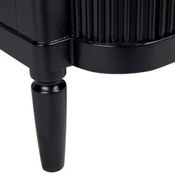Arielle 3 Drawer Chest - Black