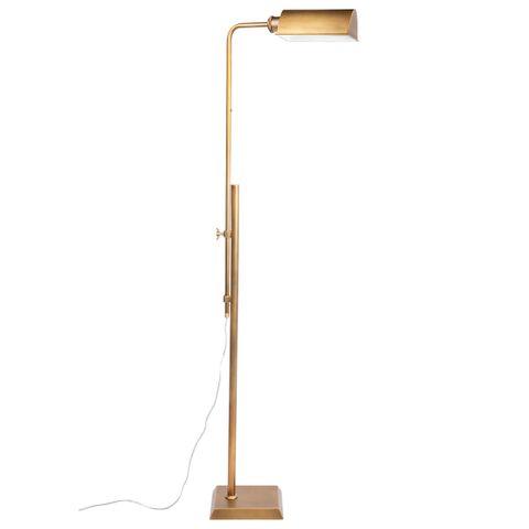 Rikki Floor Lamp - Brass