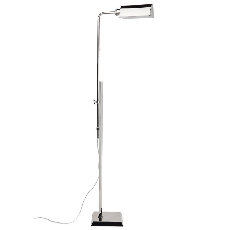 Rikki Floor Lamp - Nickel