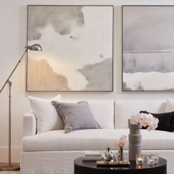 Birkshire Slip Cover 3 Seater Sofa - Off White