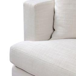 Birkshire 3 Seater Slip Cover Sofa - Off White Linen