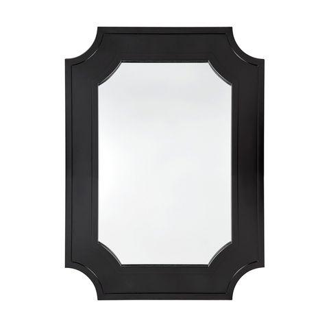 Bungalow Wall Mirror - Black