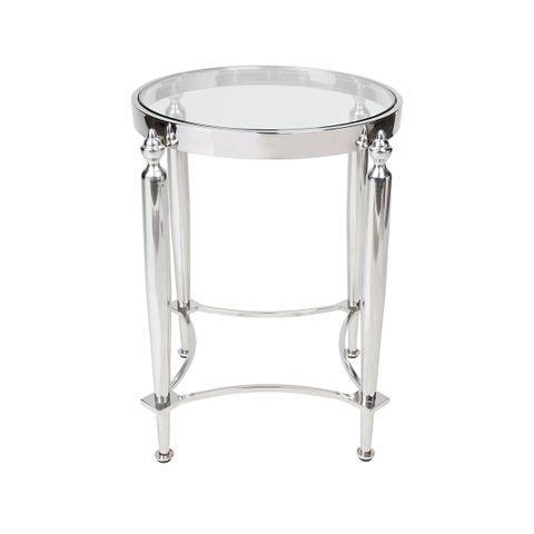 Jak Side Table - Nickel