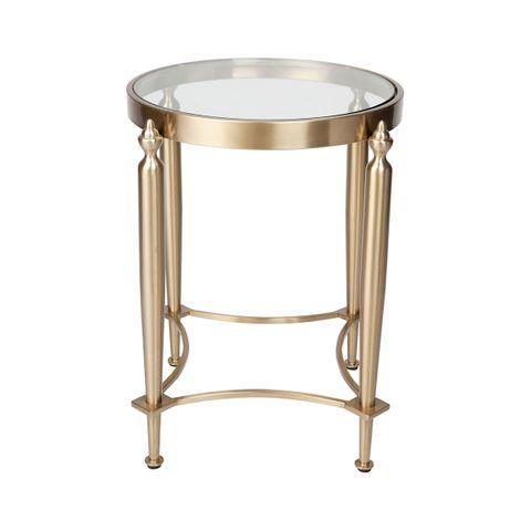Jak Side Table - Gold