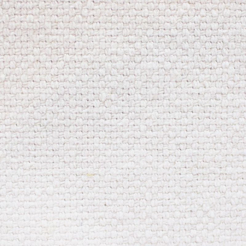 Snow Upholstery Swatch - White