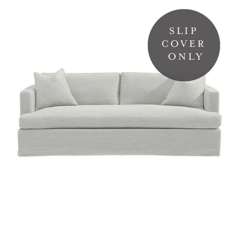 Birkshire 3 Seater Sofa SLIP COVER ONLY - Grey Linen