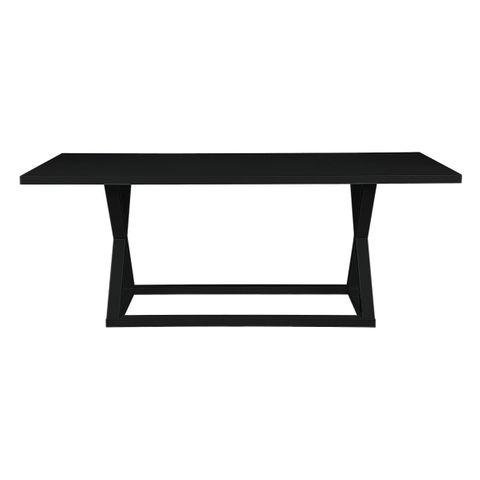 Deccan Dining Table - 1.6m Black