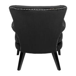 Blake Occasional Chair - Black Velvet