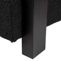 Lennon Arm Chair - Black Boucle