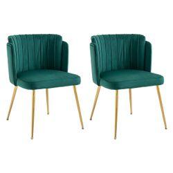 Kiama Dining Chair - Juniper Green Velvet