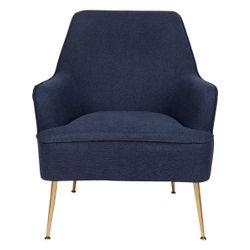 Anya Occasional Chair  - Navy Linen