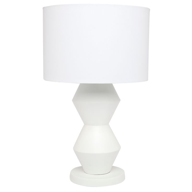 Abstract Table Lamp - White