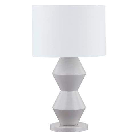 Abstract Table Lamp - Grey