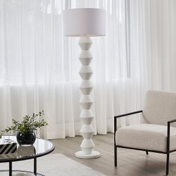 Abstract Floor Lamp - White