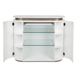 The Calile Bar/Counter - White