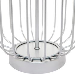 Cleo Table Lamp - Silver