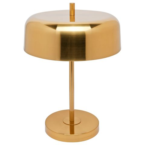 Sachs Table Lamp - Brushed Brass w Brushed Brass Shade