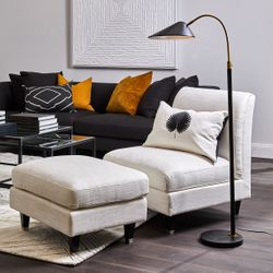 Kenya Floor Lamp - Black