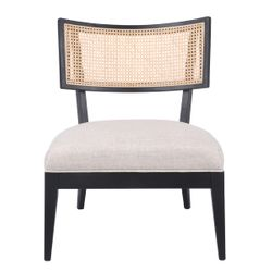 Darcy Rattan Occasional Chair - Natural
