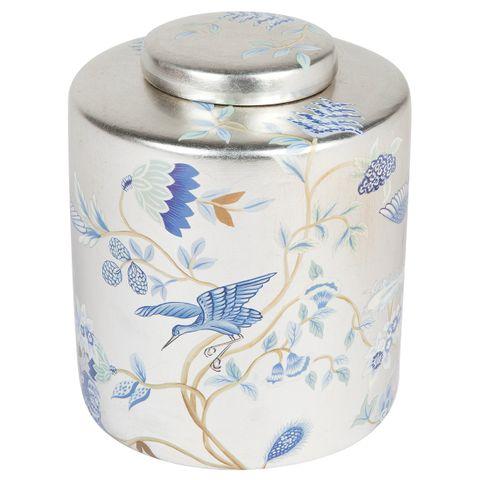 Crane Temple Jar - Small