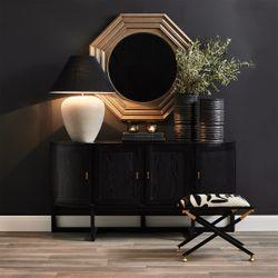 Matisse Vase Black Range