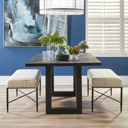 Leeton Dining Table - 2m Black