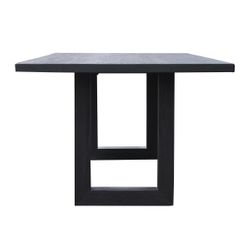 Leeton Dining Table - 2.4m Black