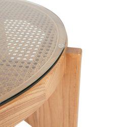 Oasis Rattan Coffee Table - Medium Natural