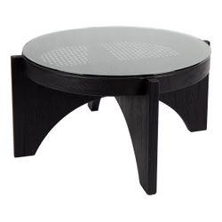 Oasis Rattan Coffee Table - Medium Black