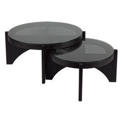 Oasis Rattan Coffee Table - Large Black