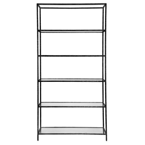 Heston Shelving Unit - Black