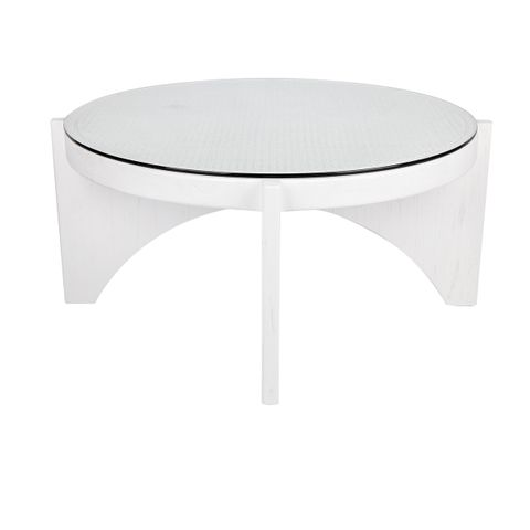 Oasis Rattan Coffee Table - Large White
