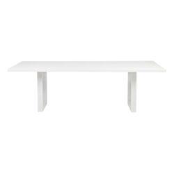 Leeton Dining Table - 2.4m White