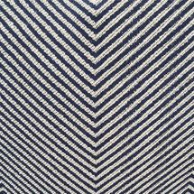Chevron Upholstery Swatch - Blue